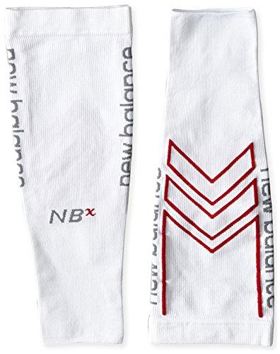 New Balance Unisex 1 Pack Sport Sleeve NBx Socks,Large,White