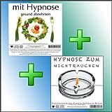 MIT HYPNOSE GESUND ABNEHMEN + HYPNOSE ZUM NICHTRAUCHEN (Hypnose-Audio-CDs) -- keine Gewichtszunahme...