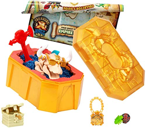Treasure X Serie 3 - Set de figuras bestias místicas para niños a partir de 5 años (Famosa 700015409)