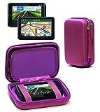 Navitech Voyage Prime Violet Transport Rigide Manches Cas/Couverture Compatible avecTomtom Via 52
