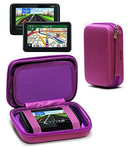 Navitech Lila AntiShock Schutz Case Cover Sleeve für das Magellan Roadmate 5430T-LM/Magellan Smart GPS 5390 / Magellan Roadmate 5375T
