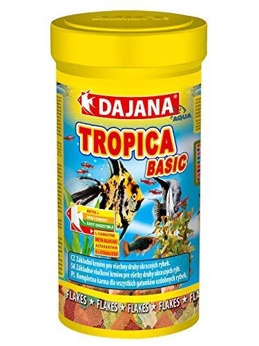 Mangime In Fiocchi Pesci Tropicali Dajana Tropica 250 ml Cibo Scaglie Acquario