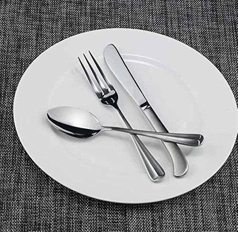 Winco Lafayette 3 Dozen Flatware Set Extra Heavy 18 0 Stainless Steel Classic Old Fashioned Dinner Spoons Dozen Pack Dinner Forks Dozen Pack And Dinner Knives Dozen Pack 36 Piece Set