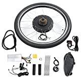 """Ebike Conversion Kit, 26"""" Front/Rear Wheel Electric Bicycle Motor Kit 48V 1000W Powerful"""