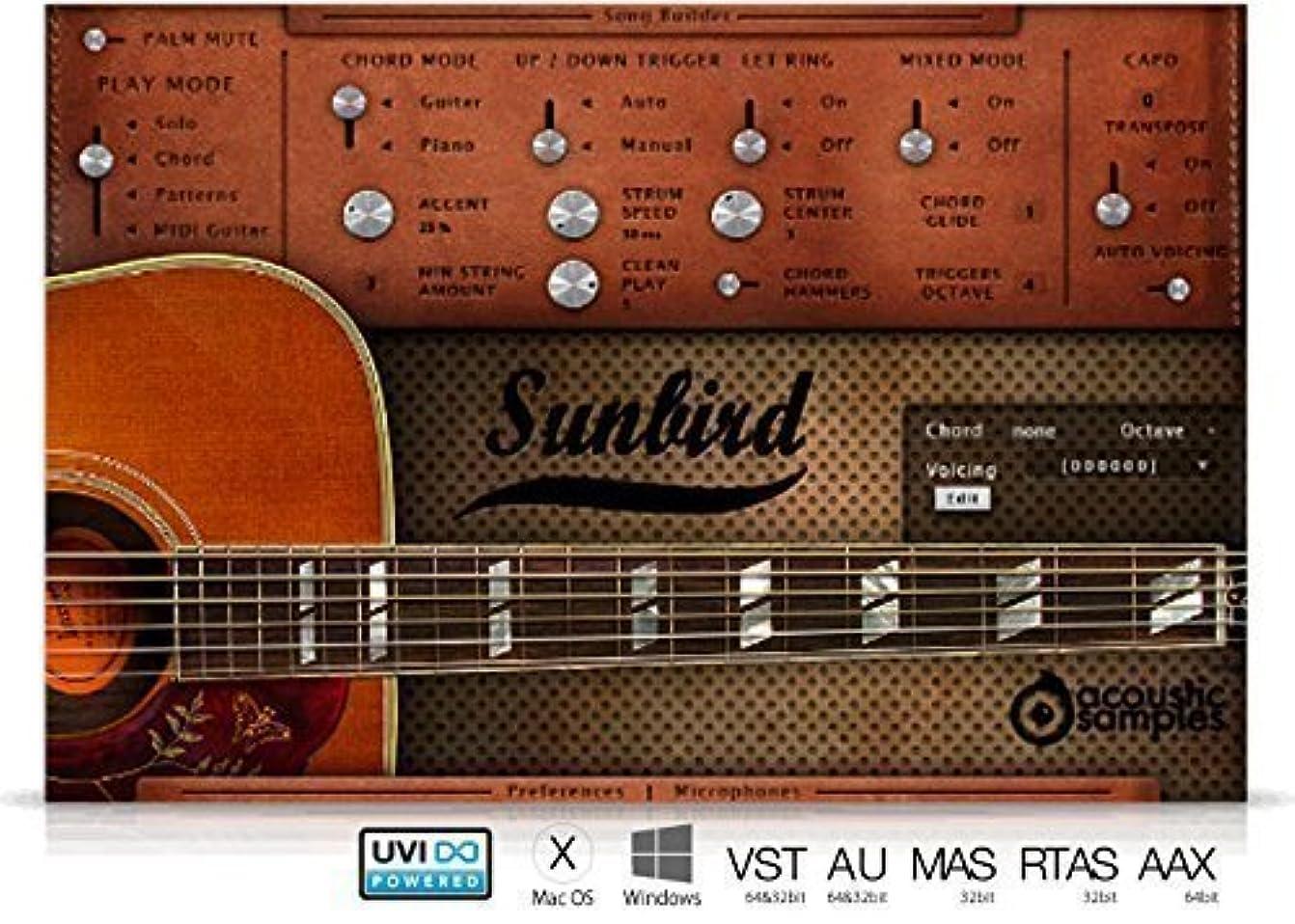 時間とともに身元方向Sunbird -ギター音源-
