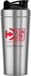 Dymatize DYM022 - Coctelera de metal para 25 aniversario, talla única, transparente