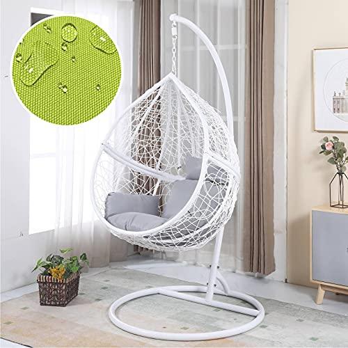 ZJHTK Cojín suave para silla de silla, para jardín, exterior, interior, multicolor, para elegir, sin silla, color blanco
