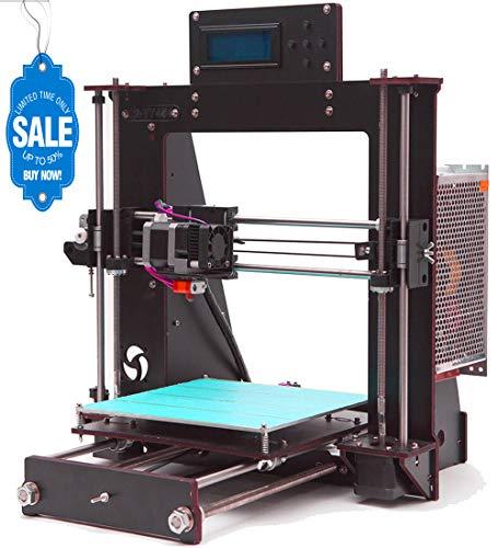 GUCOCO Prusa I3 Pro B Stampante 3D in Aviazione Legno speciale kit non montato, Kit fai da te di alta qualità eccellente