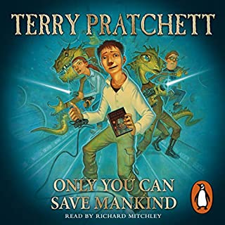 Only You Can Save Mankind audiobook cover art