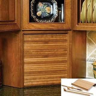 tambour door kitchen cabinet