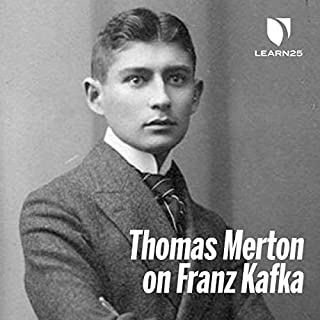 Thomas Merton on Franz Kafka audiobook cover art