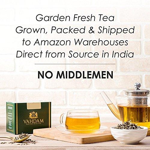 VAHDAM, Maharaja Earl Grey Oolong Tea Loose Leaf (50 Cups) | 100% PURE Oolong Tea Leaves | POWERFUL ANTI-OXIDANTS | Loose Leaf Earl Grey Tea With Natural Bergamot Oil | Brew as Hot or Iced Tea |3.53oz