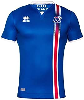 Errea Iceland Home Jersey Youth Official 2016-2017