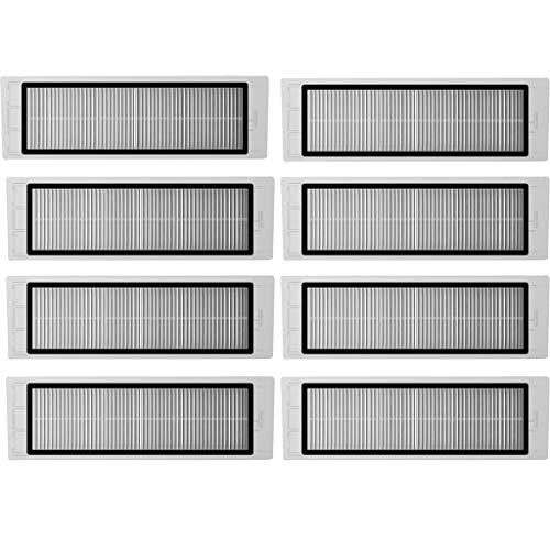 8 Stück Filterpatronen Filter für Xiaomi Mijia 1S T65 Vacuum Cleaner Staubsauger Vorfilter Ersatzteil für Xiaomi