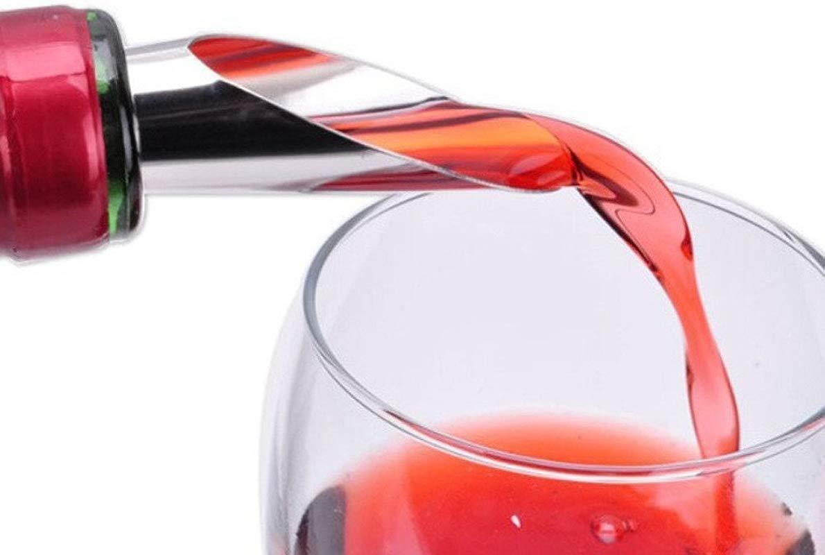 NszzJixo9 Liquor Spirit Pourer Flow Wine Bottle Pour Spout Stopper Stainless Steel Cap New All In One Multi Function Tool Bottle Wine