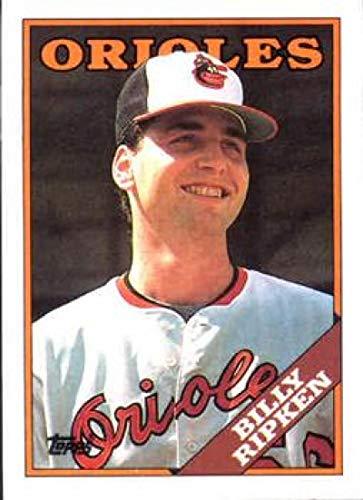 1988 Topps #352 Billy Ripken NM-MT RC Rookie Baltimore Orioles Baseball