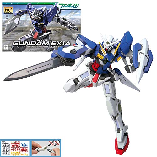GUNPLA BANDAI MK57927/5057927-Maqueta Gundam HG 1/144 EXIA, Color (Bandai-Gunpla BAS5057927)