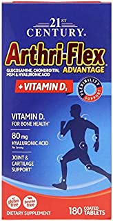 21st Century, Arthri-Flex Advantage + Vitamin D3, 180 Coated Tablets