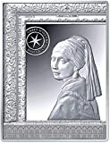Power Coin Girl with A Pearl Earring Vermeer Masterpieces of The Museum Moneda Plata 50€ Euro France 2021