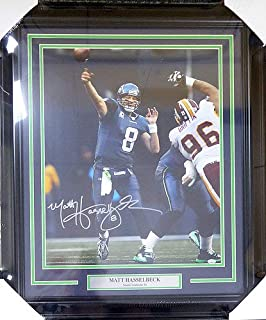 Matt Hasselbeck Autographed Signed Framed 16x20 Photo Seattle Seahawks - Certified Certified