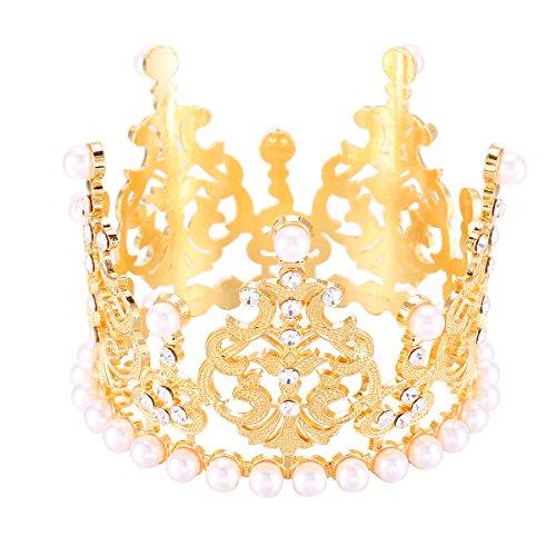 Cake Topper Mini Crown Tiara Princess Crown