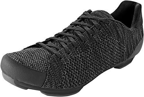 Giro Republic R Knit Mens Urban Cycling Shoe − 42, Black/Charcoal Heather (2021)