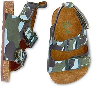 OshKosh B'Gosh Boys Faux Sueded Camo Sandles Crib Shoe,...