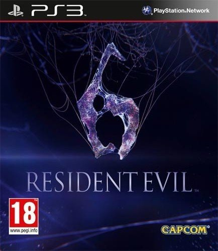 Resident Evil 6 PS-3 UK multi