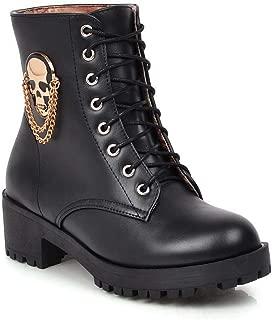 BalaMasa Womens ABS14024 Pu Boots