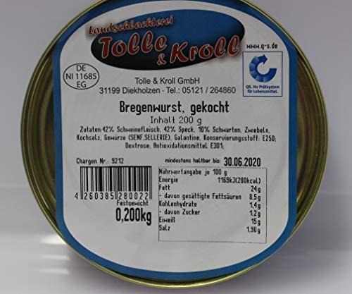Wurstkonserve 200 g Bregenwurst