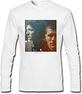Refined DIY for King & Country Run Wild.Live Free.Love Strong Men's Long-Sleeve Fashion Casual Cotton T-Shirt