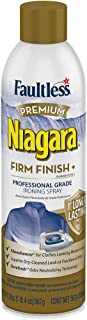 Niagara Starch Spray for Clothes – Premium Firm Finish (20oz 2 Pack) Professional Iron Spray Starch for Clothes & Fabric – No Stick Iron Spray, No Flaking or Clogging