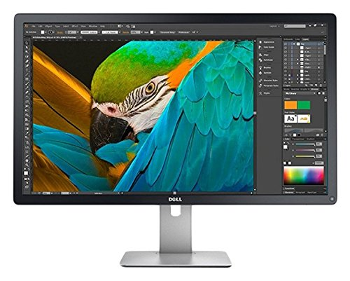 "Dell Ultrasharp UP3216Q Monitor da 32"" Ultra HD 4K, IPS, 16:9, 300 cd/m², USB 3.0, Lettore di schede, Nero"