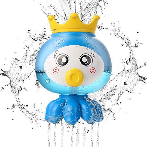 Juguetes de baño, juguete de spray de agua, juguetes de la piscina divertida, juguete para bebés, piscina Juguete de juegos de mesa, Baby Bathing Juguetes Juegos para niños Bañera de juguete Fuente de