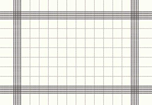 Duni Extra Large Serviette de bistro, serviettes 38 cm x 54 cm (lot de 250), Papier, gris foncé, 38 x 54