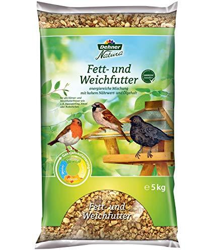 Dehner Natura Wildvogelfutter, Fett- und Weichfutter, 5 kg