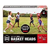 Wicked Big Sports Inflatable Basket Heads , Funny Basketball or Toss Game for Outdoor or Indoor Play