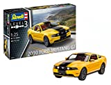 """Revell RV07046 10 Modellbausatz 07046 """"2010 Ford Mustang GT"""", Auto im Maßstab 1:25 Level 3, originalgetreue Nachbildung mit vielen Details, Multicolour"""