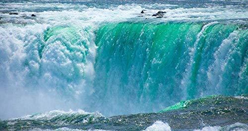 MGE Holzpuzzle 1000 Stück Spectacular Rapids Wasserfall EIN großes Geschenk for einen Freund