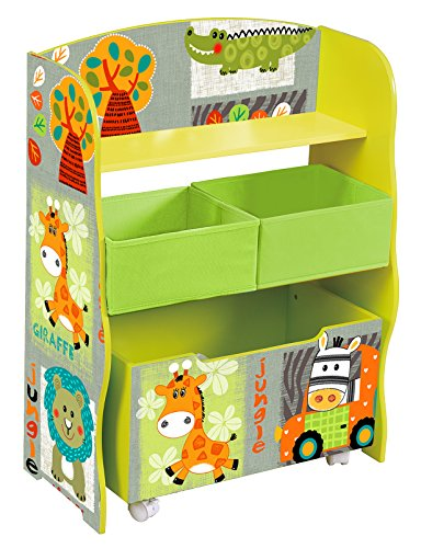 Liberty House Toys TF4821 - Scatola portaoggetti e Contenitore in Tessuto, Modello Kid Safari