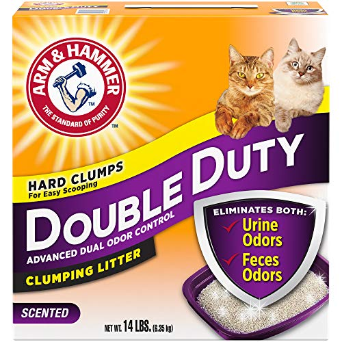 Arm & Hammer Double Duty Litter, 14 Lbs (Packaging May Vary)