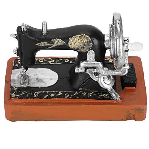 Agatige Mini máquina de Coser decoración de Escritorio Modelo de Figuras Vintage para Regalos de cumpleaños