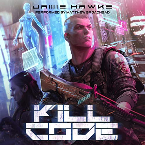 Kill Code audiobook cover art
