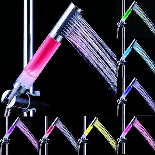 Bloomwin-Lampada a LED per Manopola di Spruzzatore della Doccia LED RGB Lampeggiante Diametro 31mm