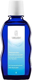 WELEDA Belebendes Gesichtswasser, erfrischendes Naturkosmetik Tonikum gegen unreine Haut und zur Verfeinerung des Hautbildes, Gesichtsreinigung für jeden Hauttyp geeignet 1 x 100 ml