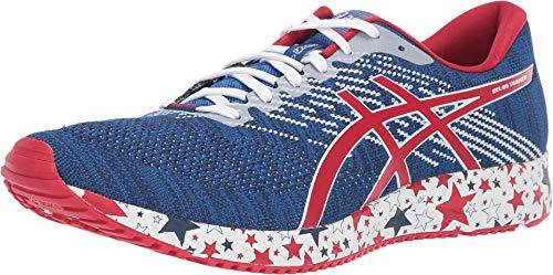 ASICS Gel-DS Trainer 24 - Zapatillas de correr para hombre, Azul (Imperial/Velocidad Rojo), 47 EU