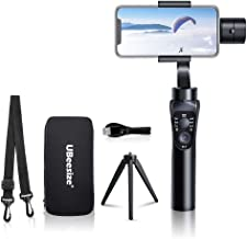 UBeesize Stabilizer Gimbal, 3-Axis Smartphone Handheld Gimbals Stabilizers with Motion/Time Lapse, Face/Object Track for iPhone X/X Max/6/7/7S,Samsung S6/S7/S8, Huawei P Smart+(2019)+/Mate 10