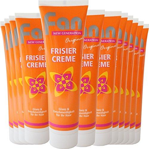 Fan Frisiercreme das Original | Haar-Creme 100 ml (12 Stück)