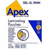 Apex - Bolsas para Laminador, A4, 100 Piezas