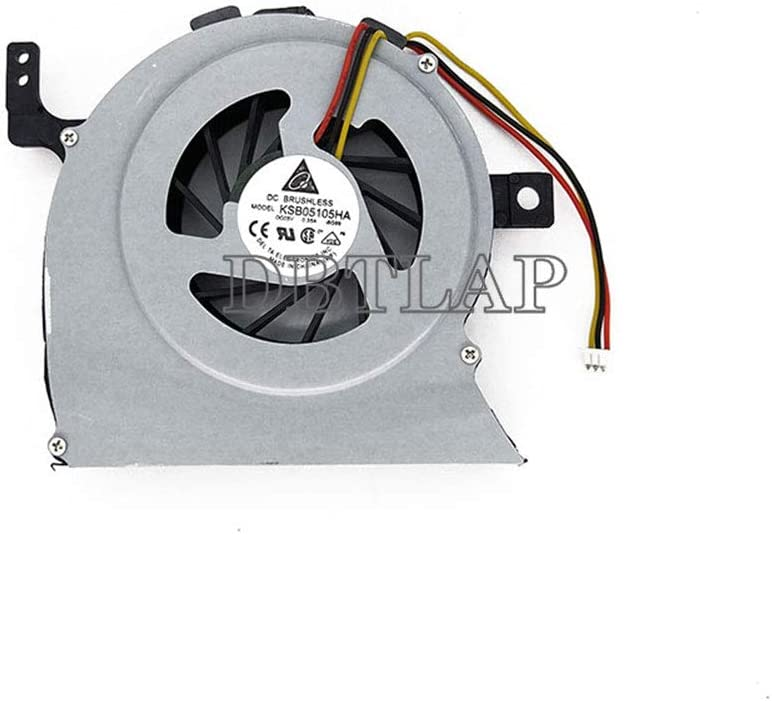 DBTLAP Laptop CPU Fan Compatible Ranking integrated 1st place for L64 L600 L630 Many popular brands Toshiba L600D